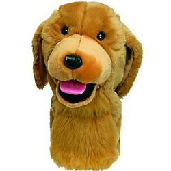 Golden Retriever Dog Golf Headcover