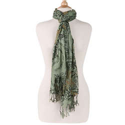 Faith Hope Courage Scarf