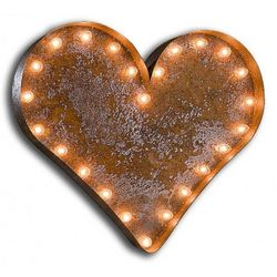 Californication Vintage Heart Marquee Light