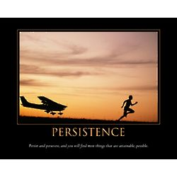 Persistence Personalized Art Print