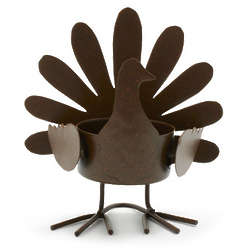 Turkey Tealight Candle Holder