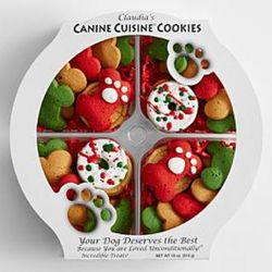 Christmas Dog Treat Gift Set