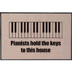 Piano Olefin Doormat