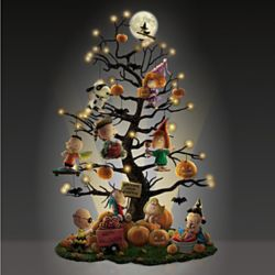 PEANUTS It's the Great Pumpkin Illuminated Halloween Tree