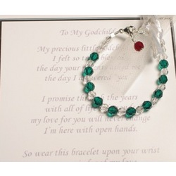 To My Godchild Bracelet