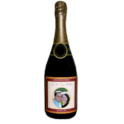 Personalized Wedding Wine or Champagne Bottle Label