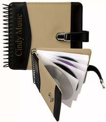 Spiral Bound Media CD Holder