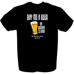 Buy Me A Beer Groom To Be T-Shirt