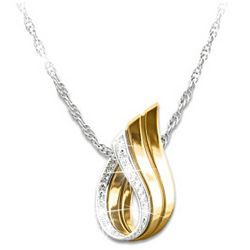 Forever Loved Diamond Accent Necklace