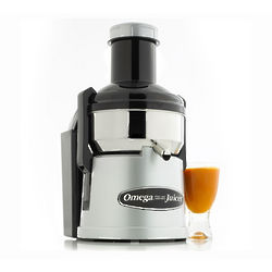 Omega Big Mouth Pulp-Ejection Stainless Steel Juicer