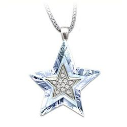 Granddaughter, You're My Shining Star Crystal Necklace