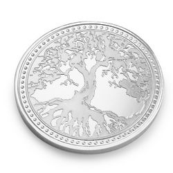 Silver Tree Of Life Coin