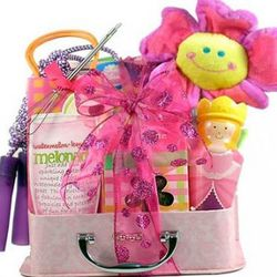 Girl's Princess Gift Basket