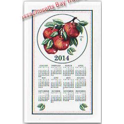 2014 Apple Calendar Towel