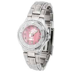 NCAA Women's Competitor Steel Band Mother of Pearl Watch