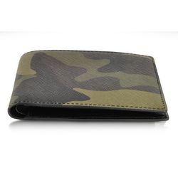 Camouflage Eco Leather Bi-Fold Wallet