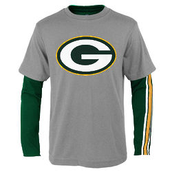 Youth's Green Bay Packer Squad 3-in-1 Combo T-Shirt