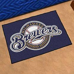 Milwaukee Brewers Logo Door Mat