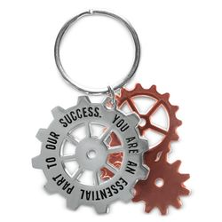You're an Essential Part of Our Success Metal Keychain