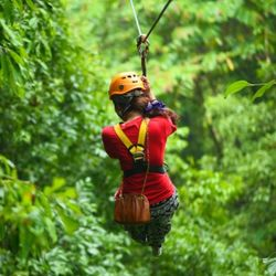 Waterfall Gorge Canopy Tour for One