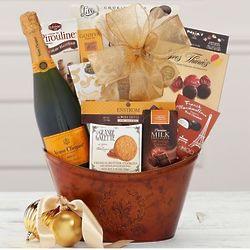 Veuve Clicquot Wine Gift Basket