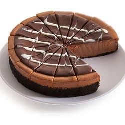 "9"" Triple Chocolate Cheesecake"