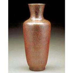 Roseville Copper Vase
