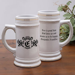 Famous Quotes© Personalized Beer Stein