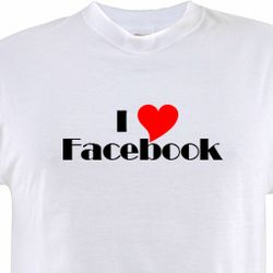 I Love Facebook Shirt