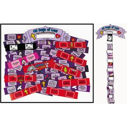 40 Days of Lent Paper Chain Craft Kit