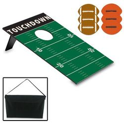 Football Field Bean Bag Toss with Carrying Case