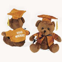 Personalized Plush Graduation Bear