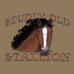 Studly Old Stallion T-Shirt
