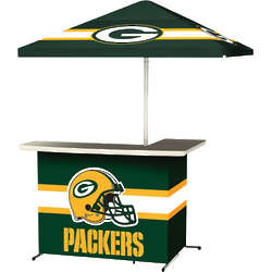 Green Bay Packers Portable Tailgate Bar