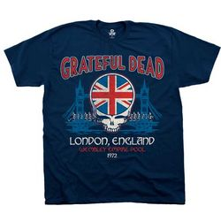Grateful Dead Wembley Concert T-Shirt