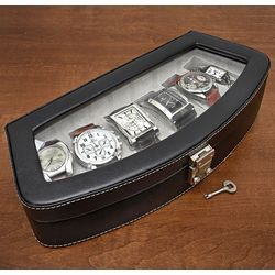 Timeless Italian Leather Six Watch Case