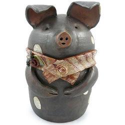 Handmade Pig Cookie Jar