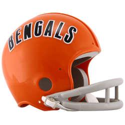 Cincinnati Bengals 1968-1979 Throwback Replica Mini Helmet