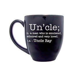 Personalized Definition Bistro Family Relative Mug