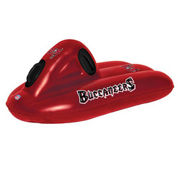 "Tampa Bay Buccaneers NFL 42"" Inflatable Super Sled / Water Raft"