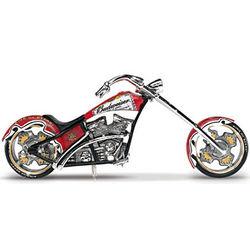 Budweiser Chopper Figurine