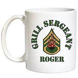 Personalized Grill Sergeant Mug