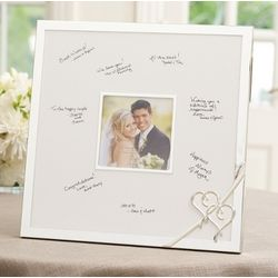 Lenox True Love Wedding Guest Book Frame