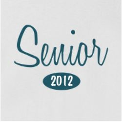 Senior 2012 Women's Cotton T-Shirt