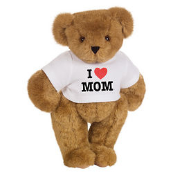I Heart Mom T-Shirt Teddy Bear