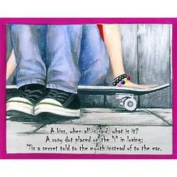 Skateboard Afternoon Personalized Print