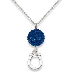 Indianapolis Colts Ovation Sterling Silver Necklace
