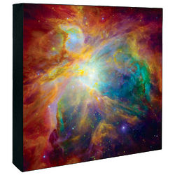 "16"" Orion Nebula Hubble Image Canvas Print"