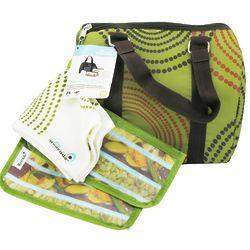 Green Avodot Duffle Lunch Carrier Kit