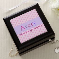 Just For Her Girl's Personalized Jewelry Box